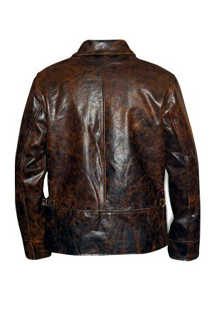 Starsky And Hutch distressed Leather Jacket