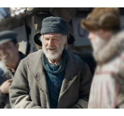 Harrison-Ford-The-Call-of-the-Wild-John-Thornton-Grey-Coat
