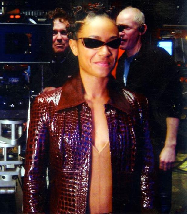 The Matrix 4 Niobe Red Leather Jacket
