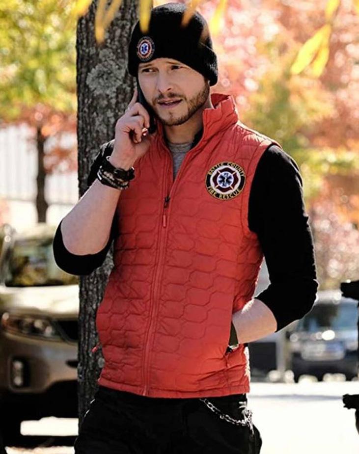 Conard-Hawkins-The-Resident-Matt-Czuchry-Red-Vest