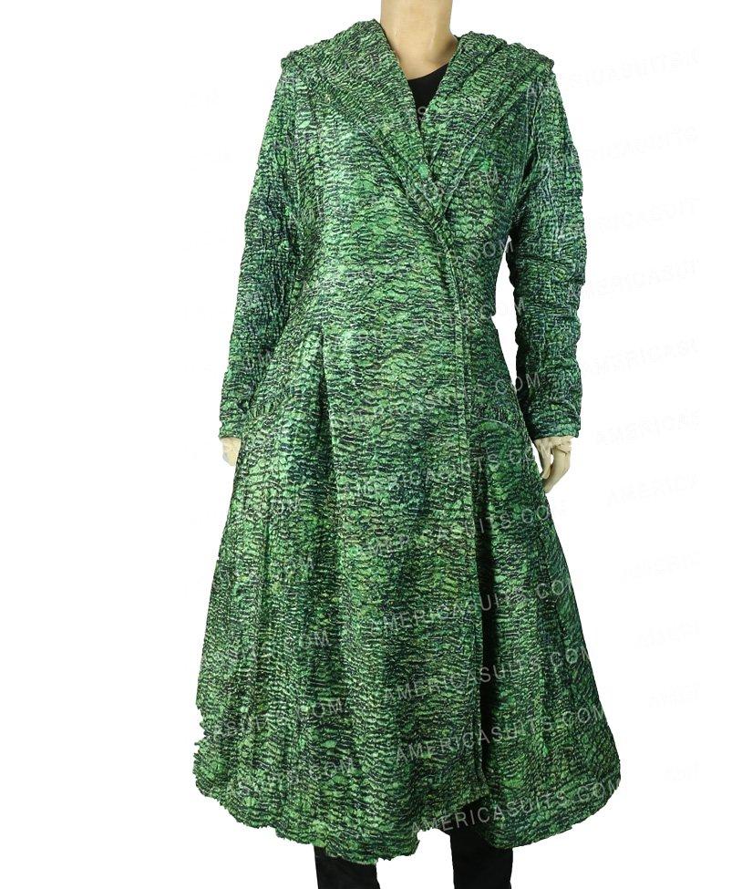 Undoing-Nicole-Kidman-Green-Coat-America Suits