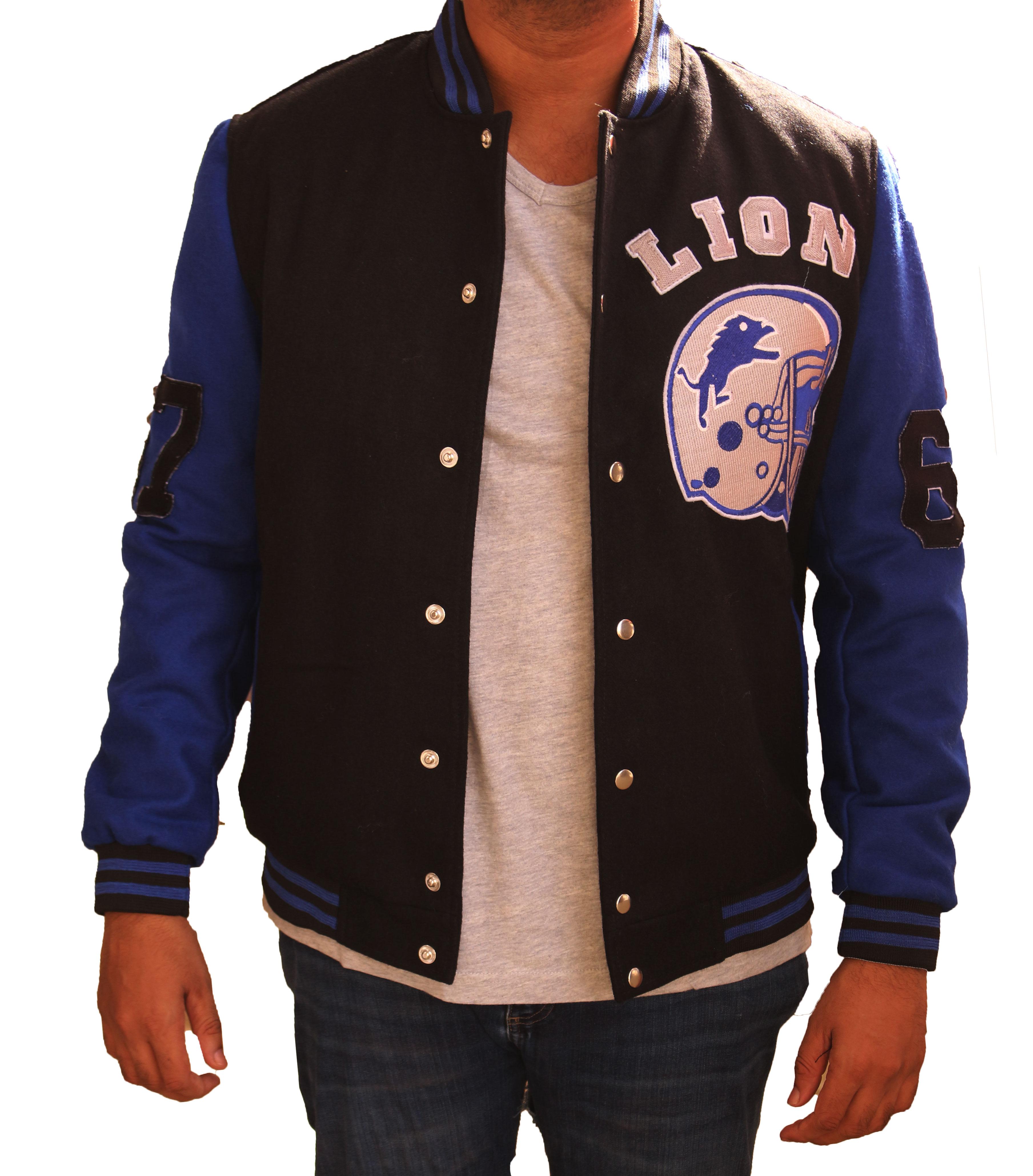 Tom-Hardy-Detroit-Lions-Varsity-Jacket1