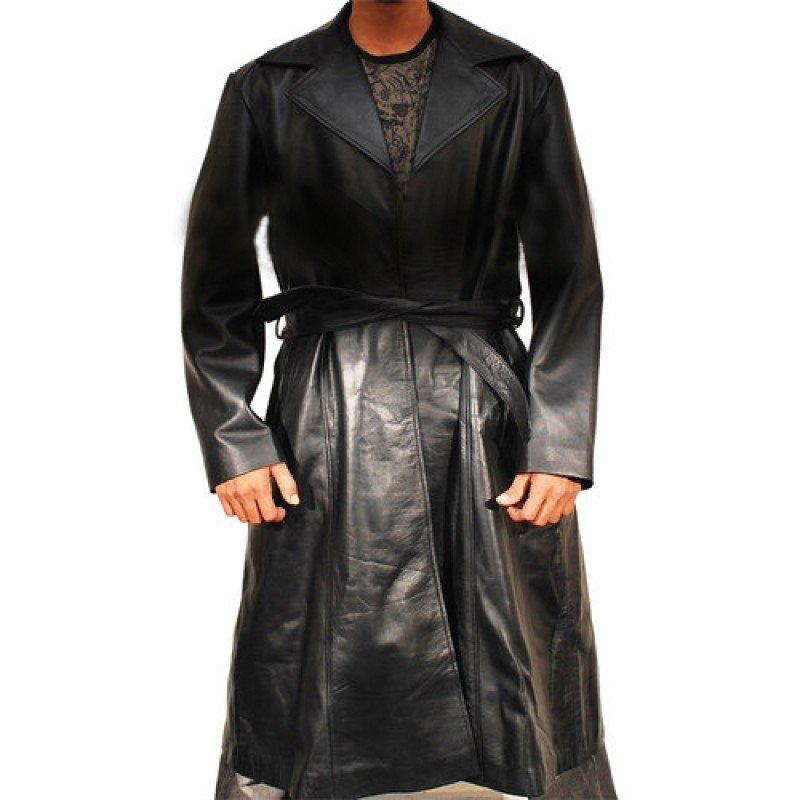 Wesley Snipes Leather Coat