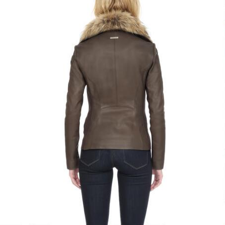 Fur Jacket Racoon Women