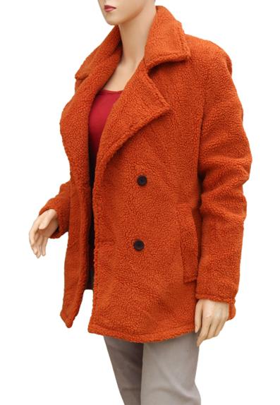 Kelly Reily Yellowstone Orange Coat