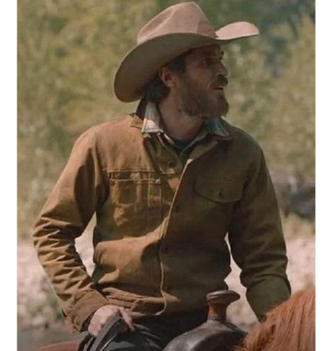 Lee-Dutton-Yellowstone-Dave-Annable-Brown-Jacket
