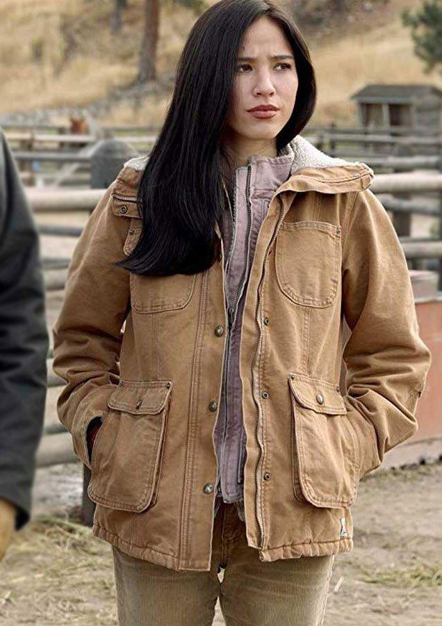 Yellowstone-Kelsey-Asbille-Cotton-Jacket