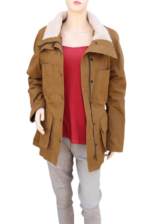 Monica Dutton Yellowstone Season 2 Brown Jacket