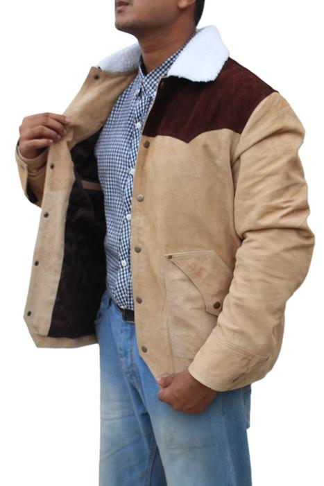 John Dutton Shearling Jacket