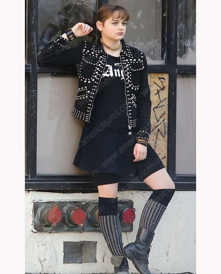 Zeroville Joey King Black Leather Jacket