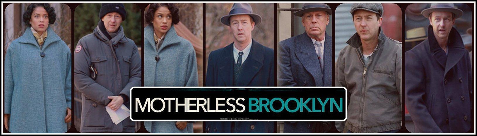 Motherless Brooklyn Wool Coat